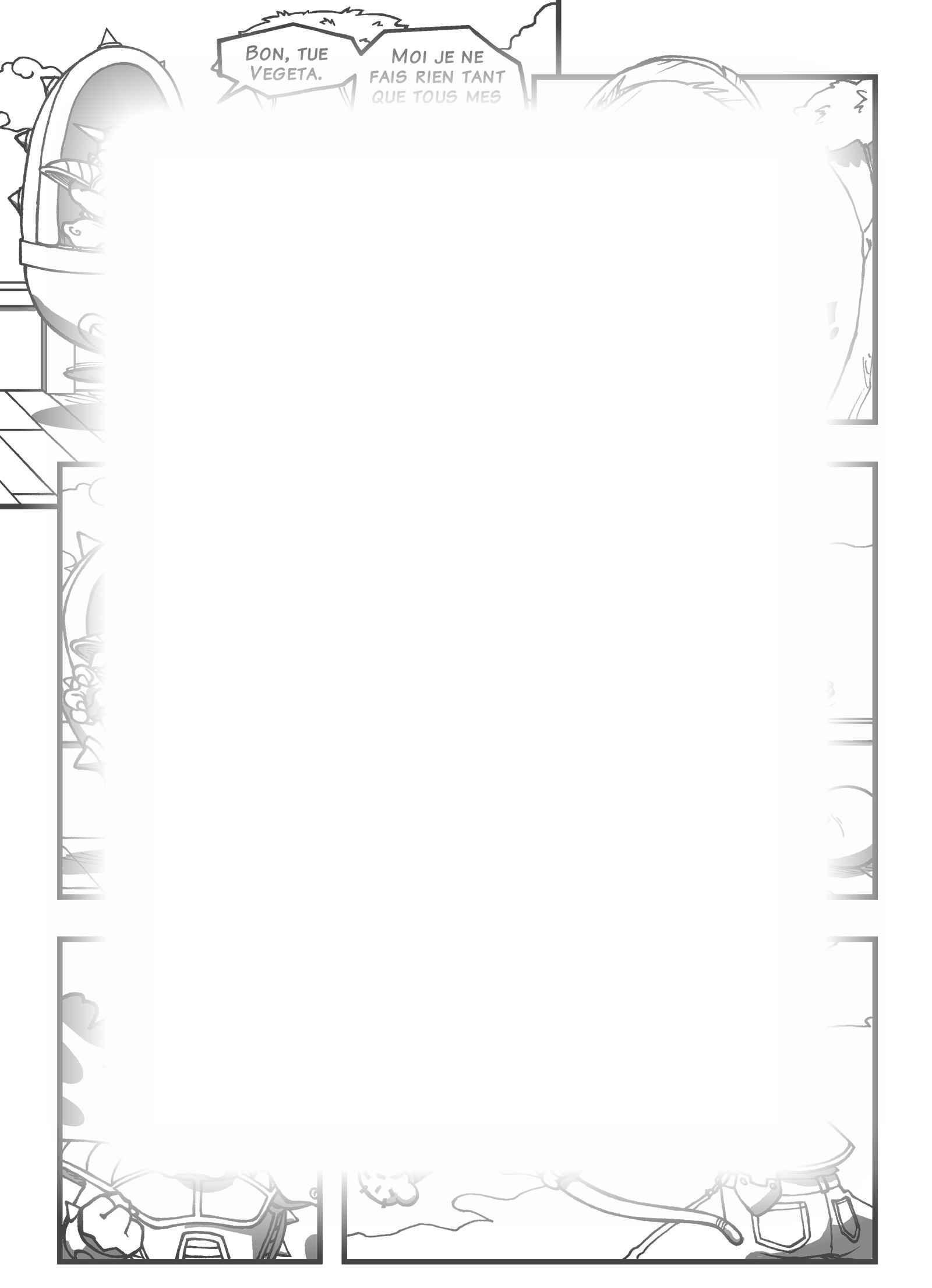 Super Dragon Bros Z : Chapitre 10 page 22