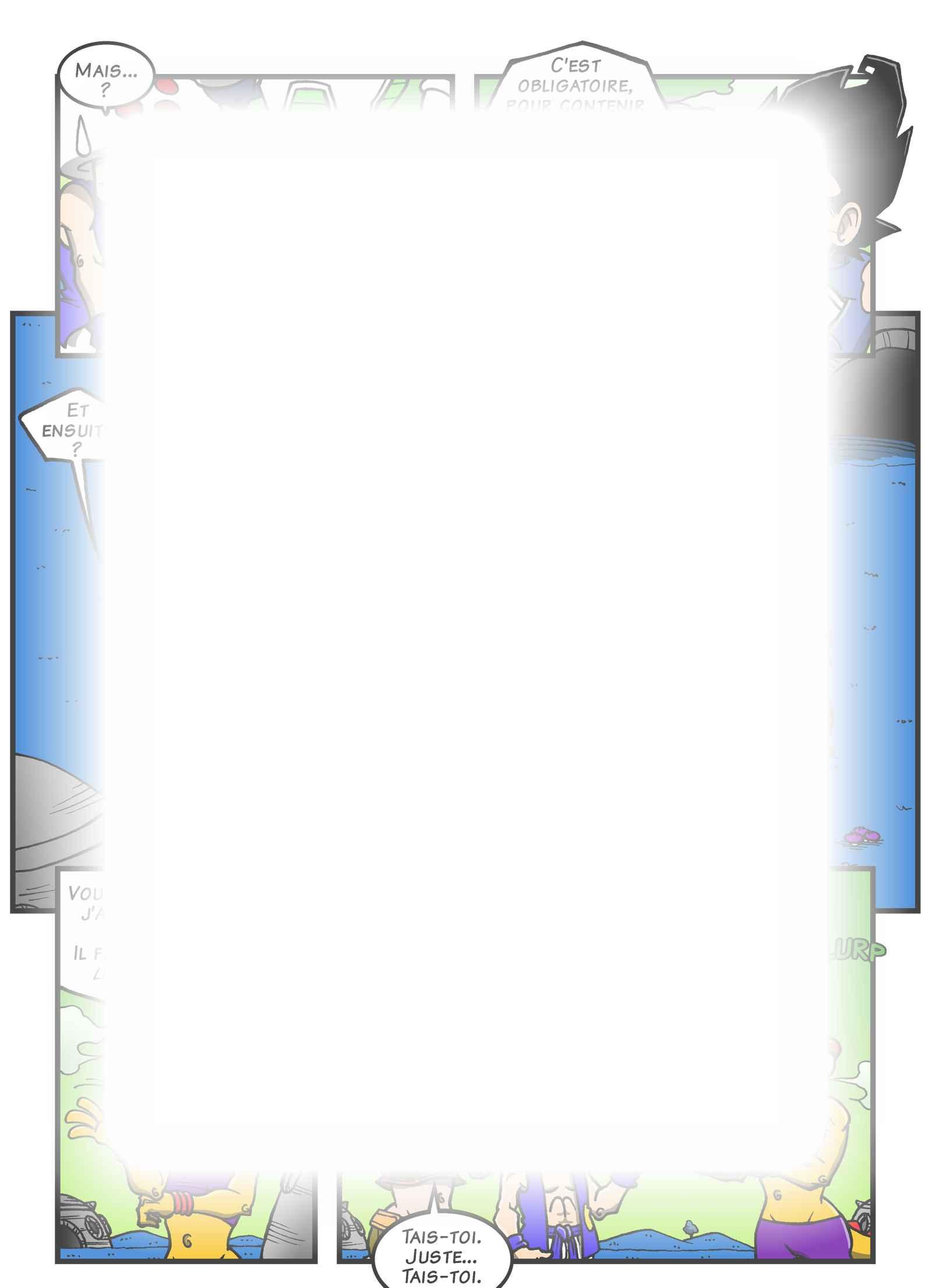 Super Dragon Bros Z : Chapitre 13 page 5