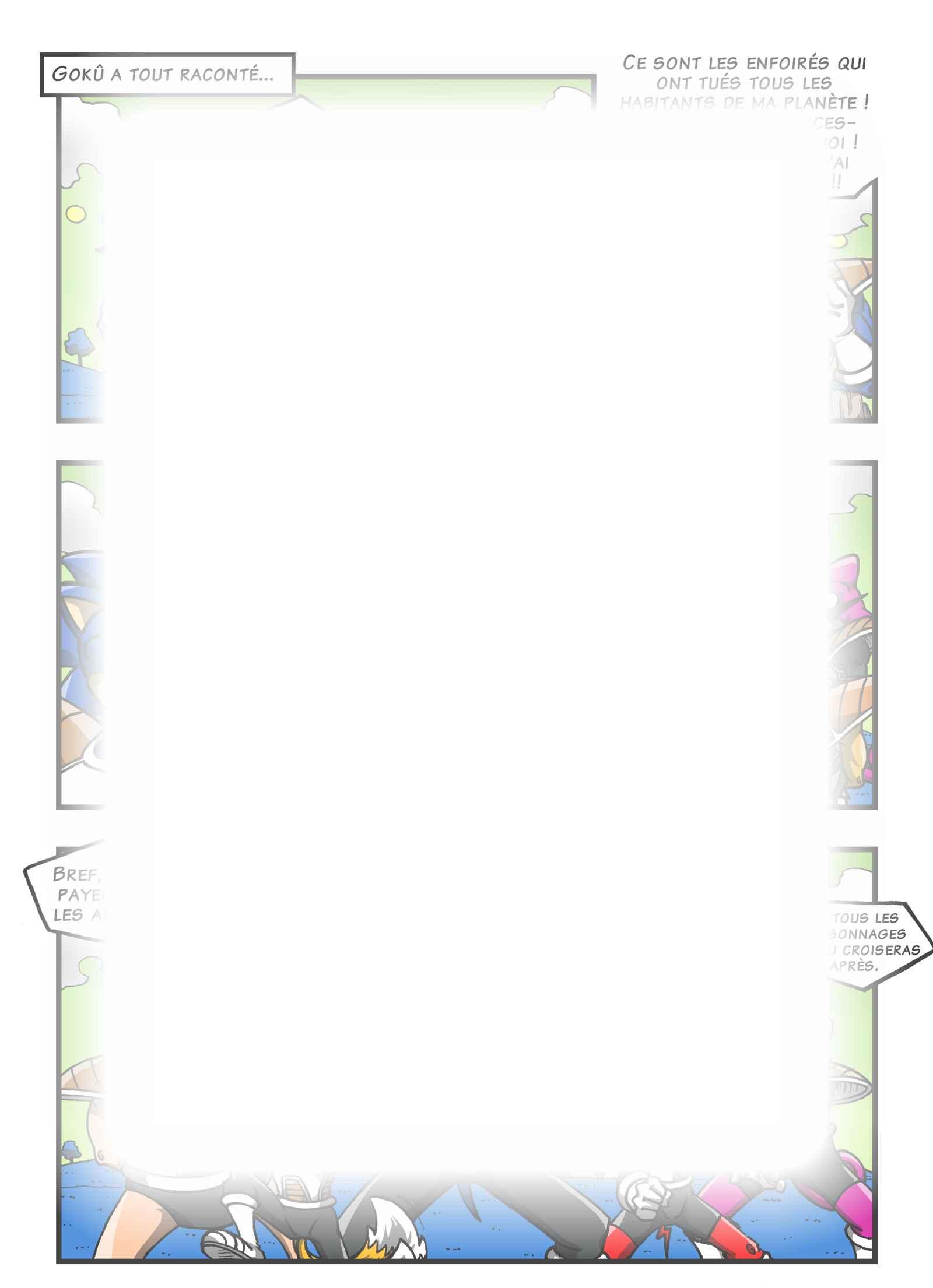Super Dragon Bros Z : Chapitre 13 page 6