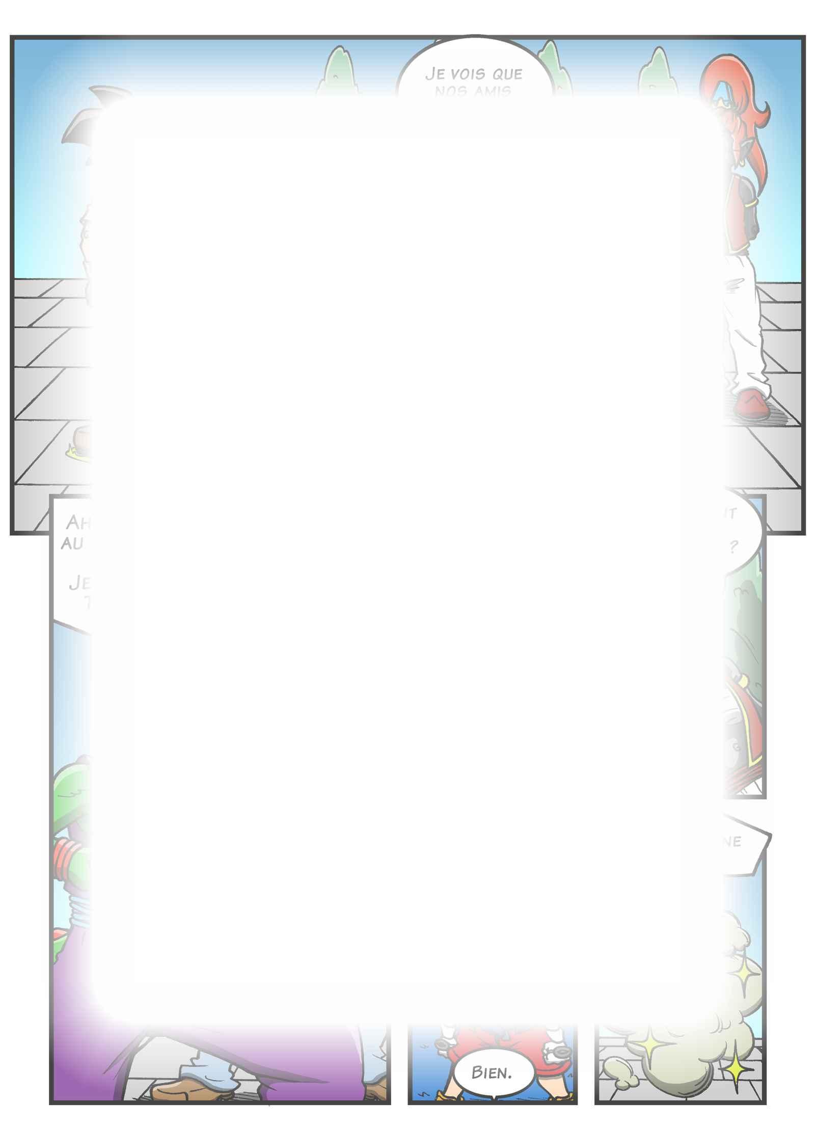 Super Dragon Bros Z : Chapitre 13 page 11