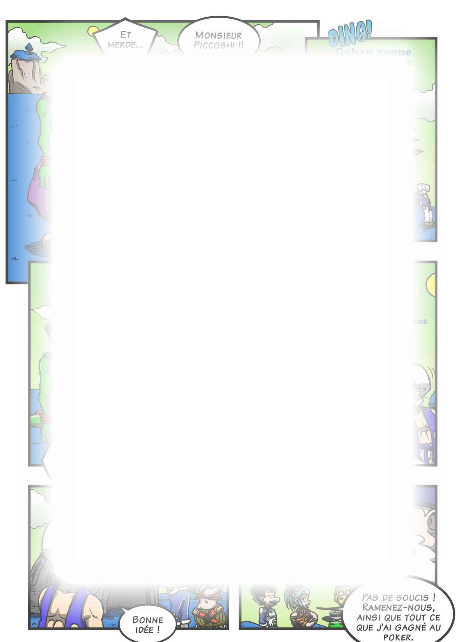 Super Dragon Bros Z : Chapitre 13 page 15