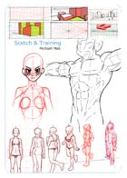 Michaël Mab Sketchs & Training : Chapter 1 page 1