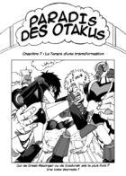 Paradis des otakus : Chapitre 7 page 1