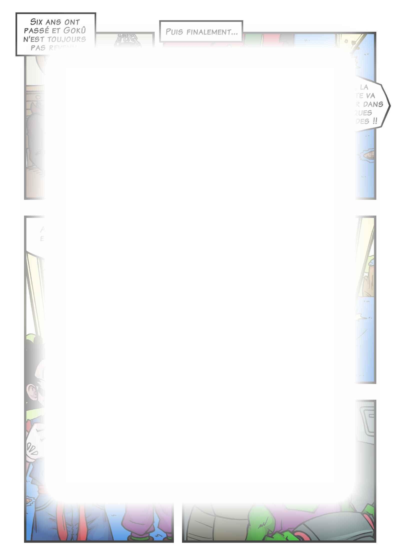 Super Dragon Bros Z : Chapitre 15 page 6