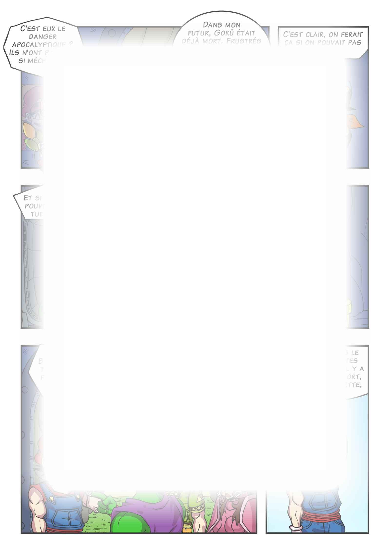 Super Dragon Bros Z : Chapitre 20 page 27
