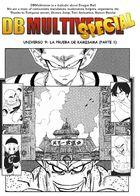 DBM U3 & U9: Una Tierra sin Goku : Capítulo 12 página 1