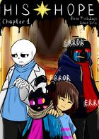 Undertale AU | His hope : Chapter 1 page 1