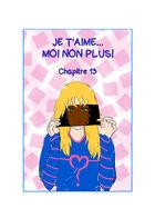 Je t'aime...Moi non plus! : Chapter 13 page 1