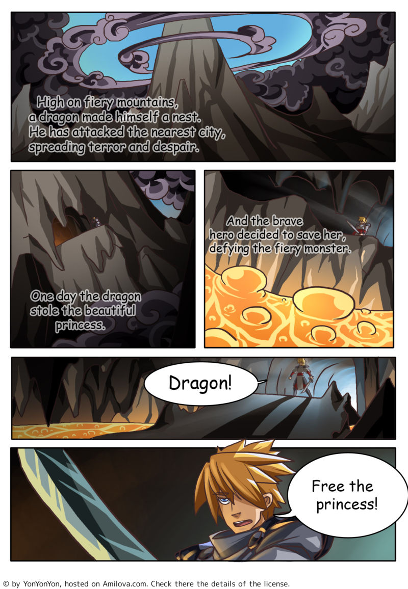 the heart of earth fantasy sf free online comics ch 1 p 1