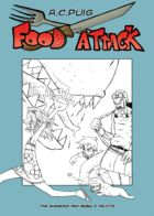 Food Attack: Artworks : Chapter 1 page 12