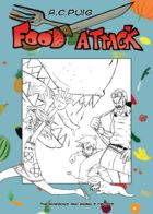 Food Attack: Artworks : Capítulo 1 página 13