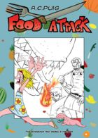 Food Attack: Artworks : Chapter 1 page 14