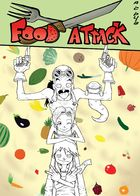 Food Attack: Artworks : Chapter 1 page 3