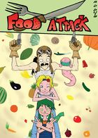 Food Attack: Artworks : Chapter 1 page 4