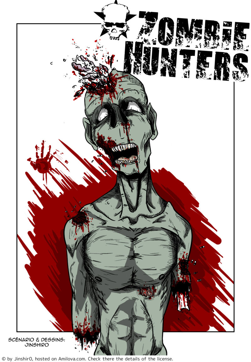 zombie hunters thriller free online mangas ch1p1