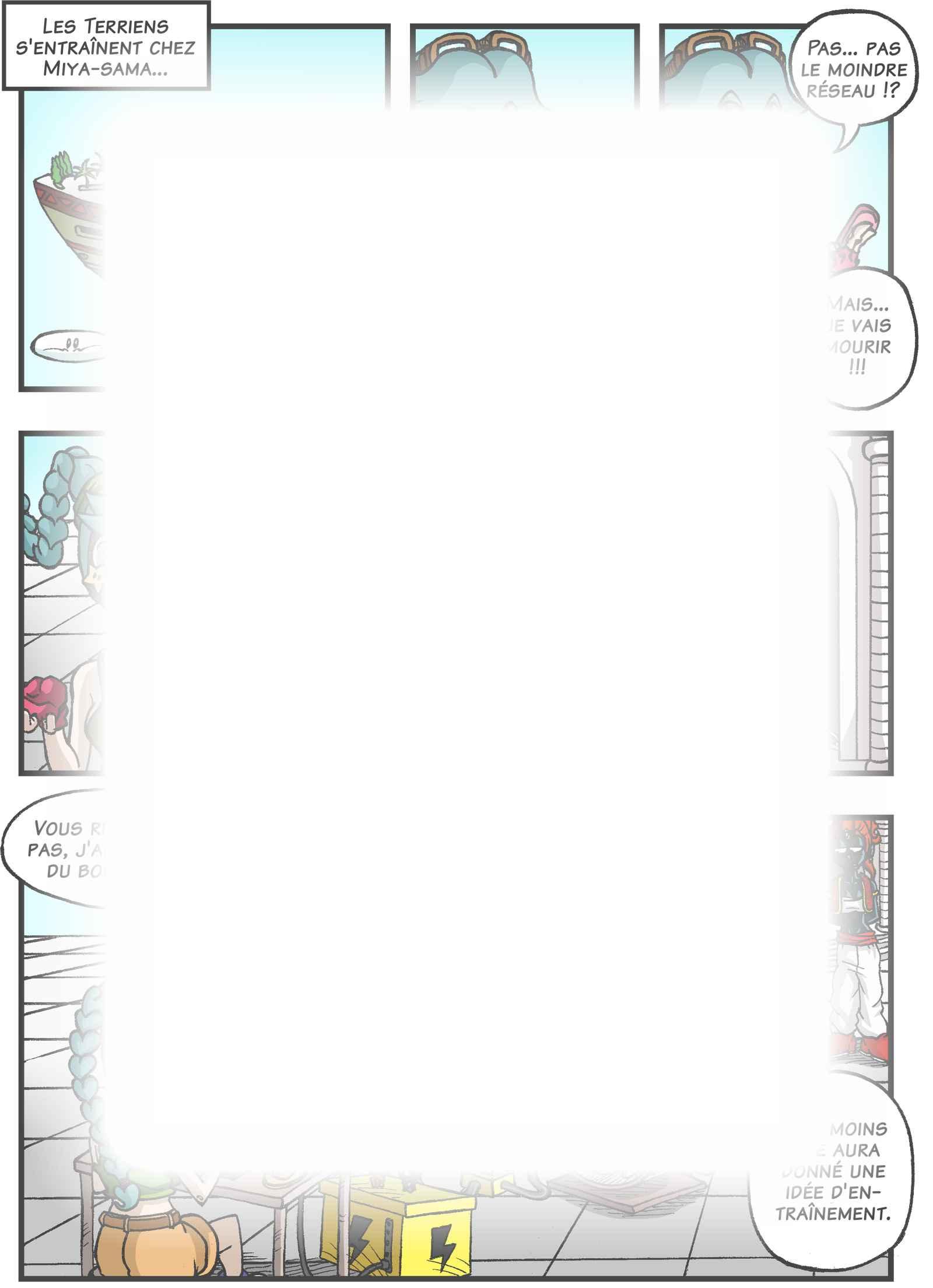 Super Dragon Bros Z : Chapitre 2 page 14