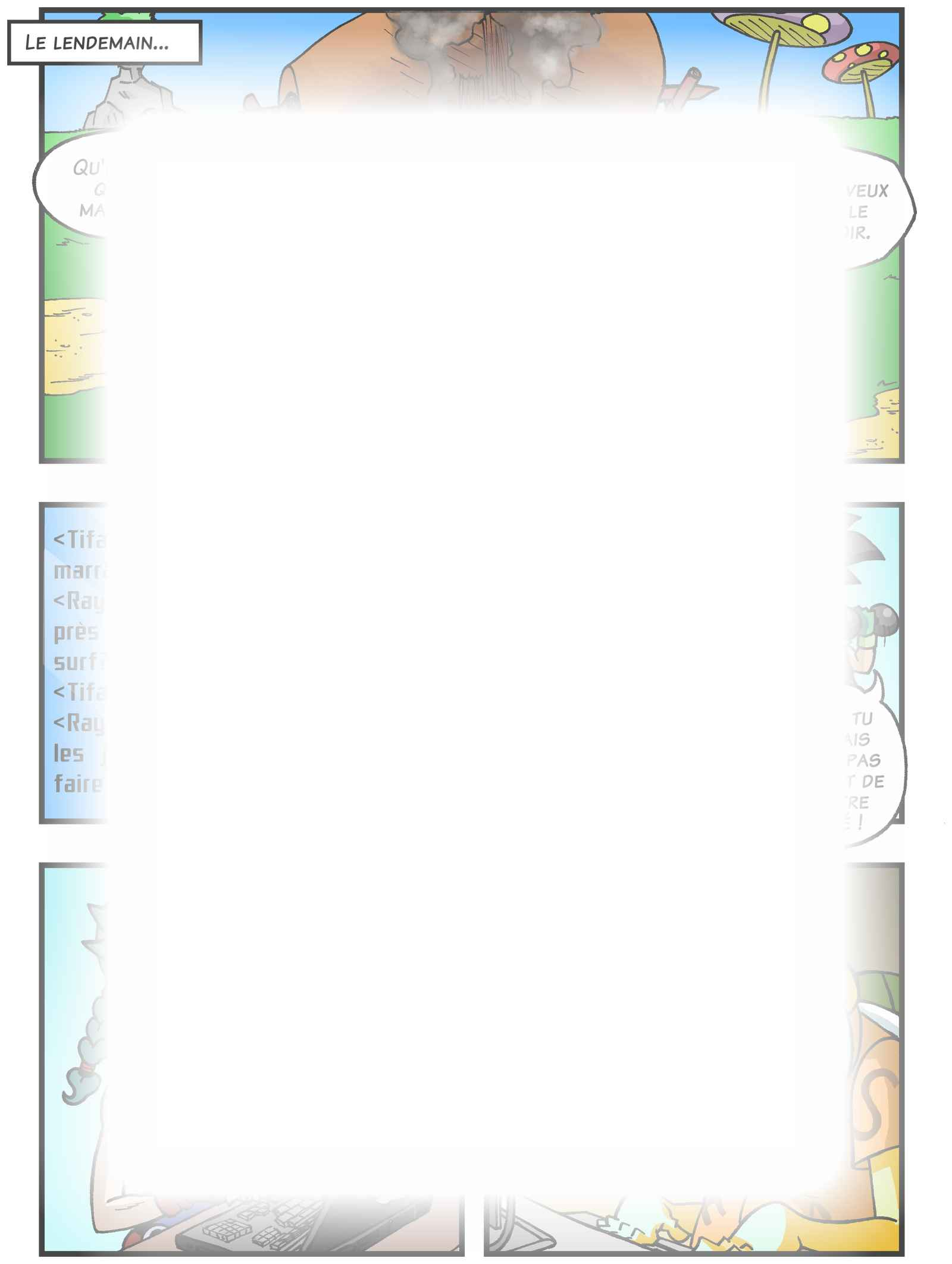 Super Dragon Bros Z : Chapitre 3 page 4