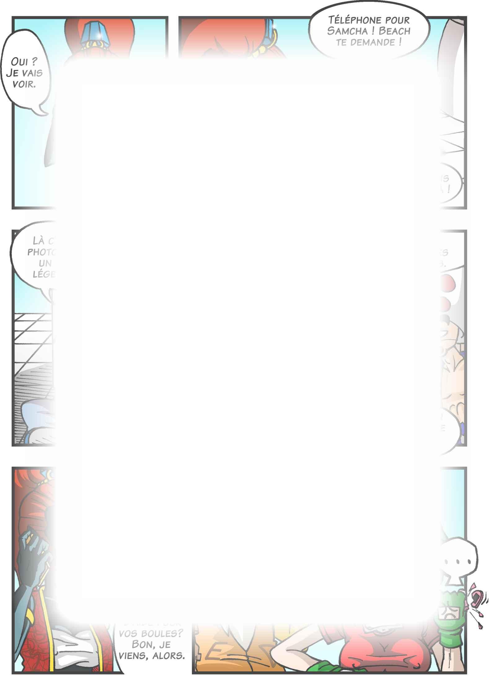 Super Dragon Bros Z : Chapitre 3 page 14