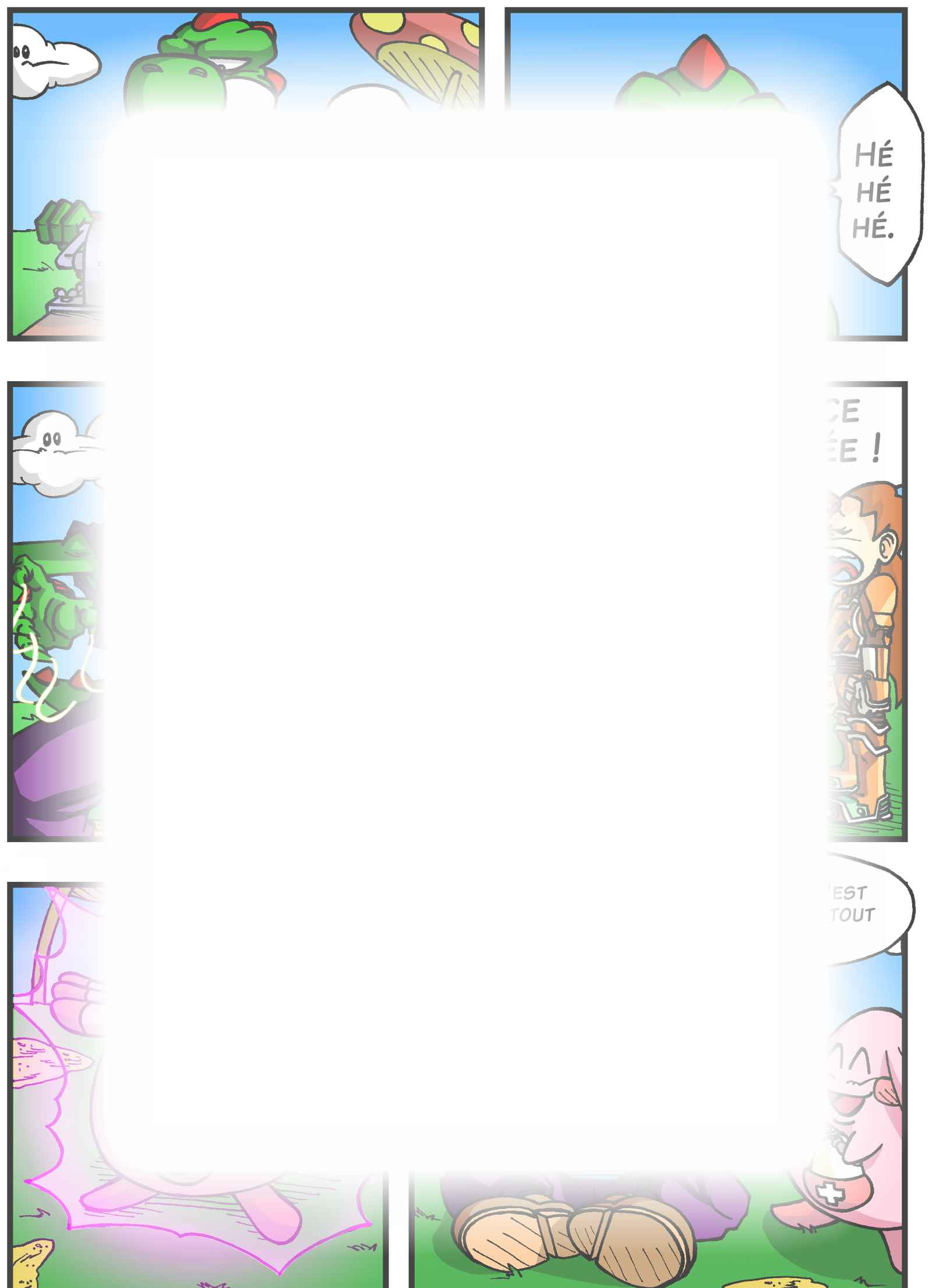 Super Dragon Bros Z : Chapter 3 page 15