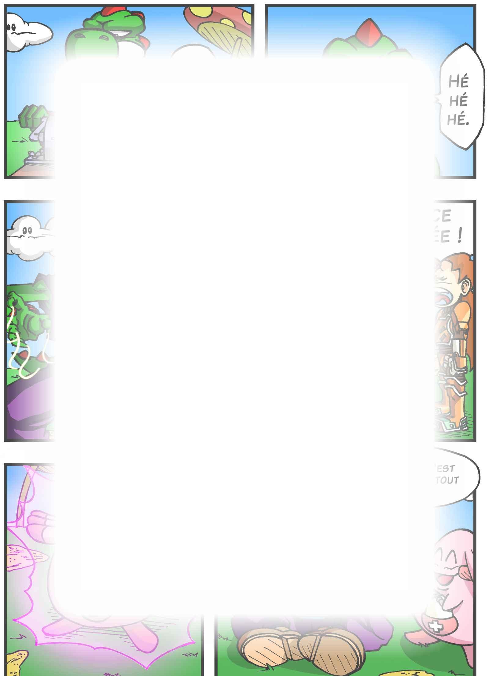 Super Dragon Bros Z : Chapitre 3 page 15