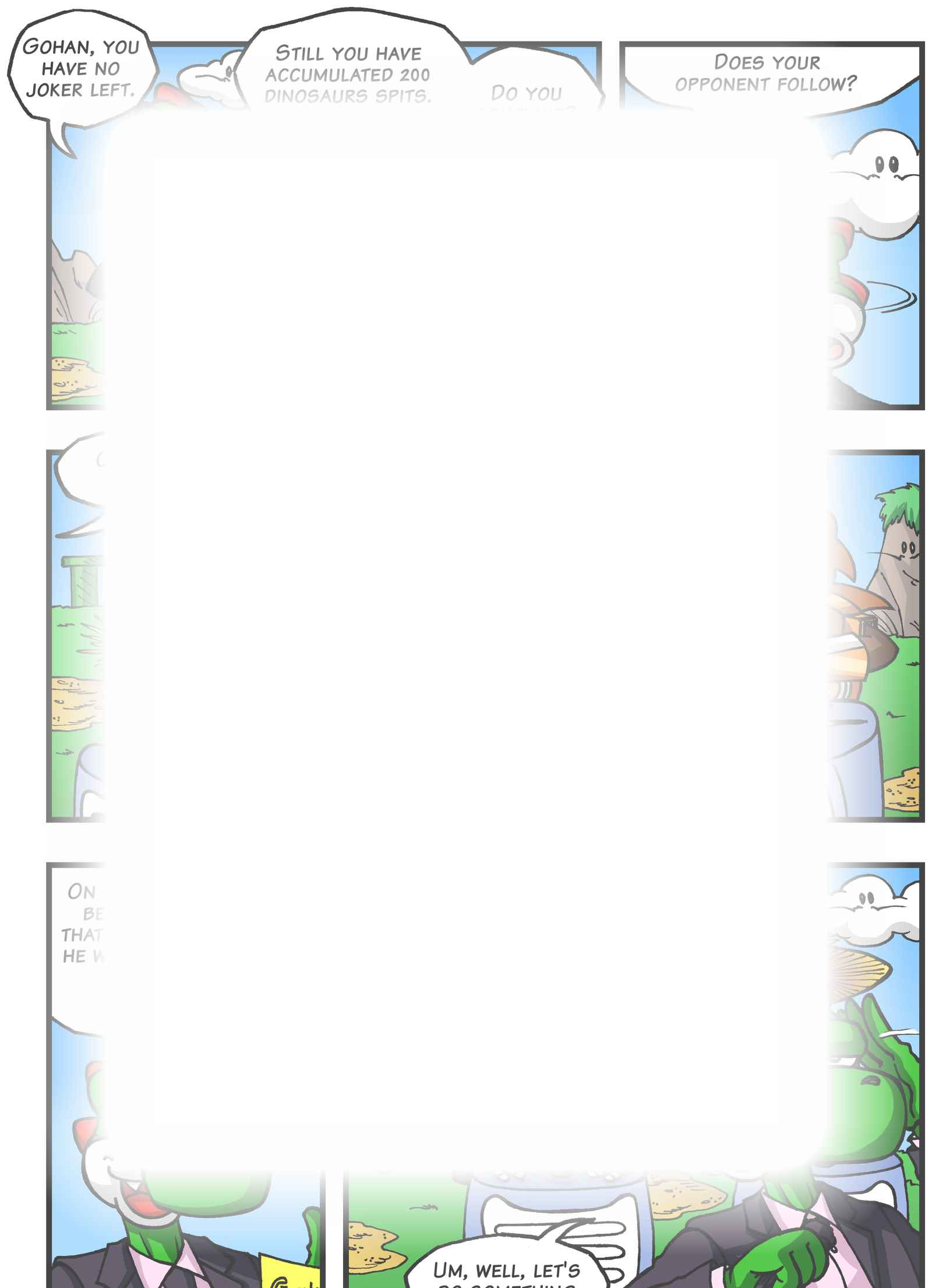 Super Dragon Bros Z : Chapitre 4 page 11