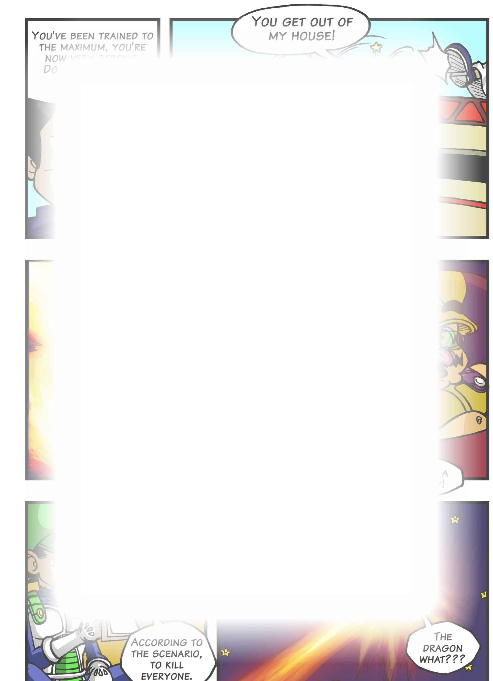 Super Dragon Bros Z : チャプター 4 ページ 13