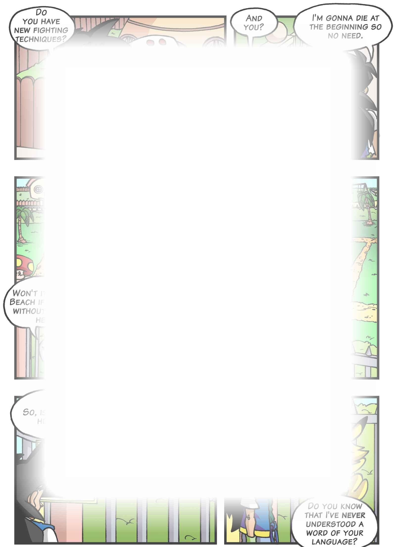 Super Dragon Bros Z : Chapitre 4 page 17
