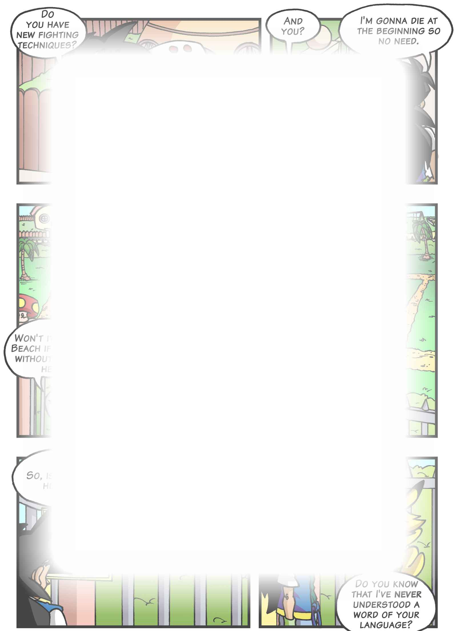 Super Dragon Bros Z : チャプター 4 ページ 17