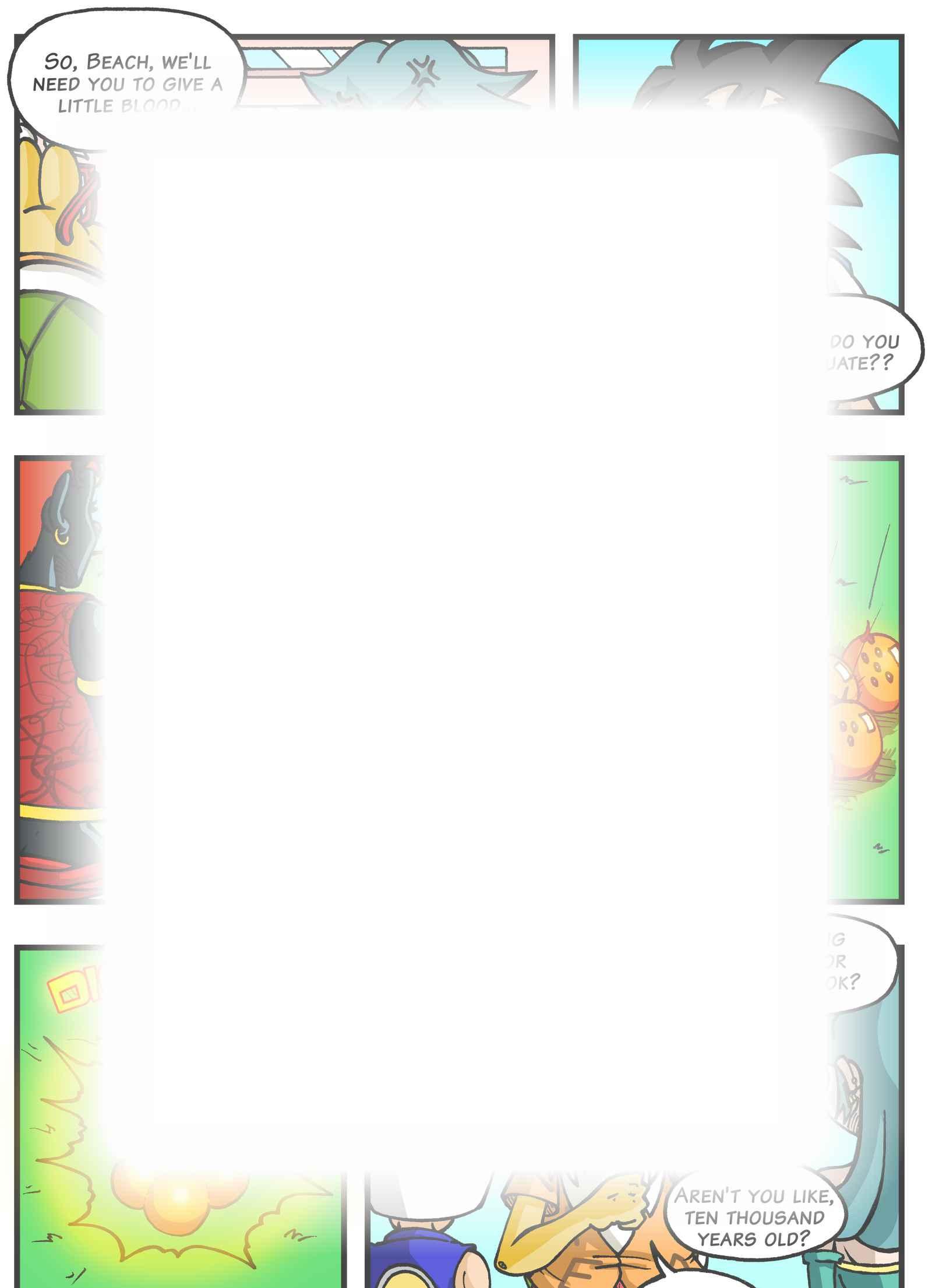 Super Dragon Bros Z : Chapitre 4 page 20