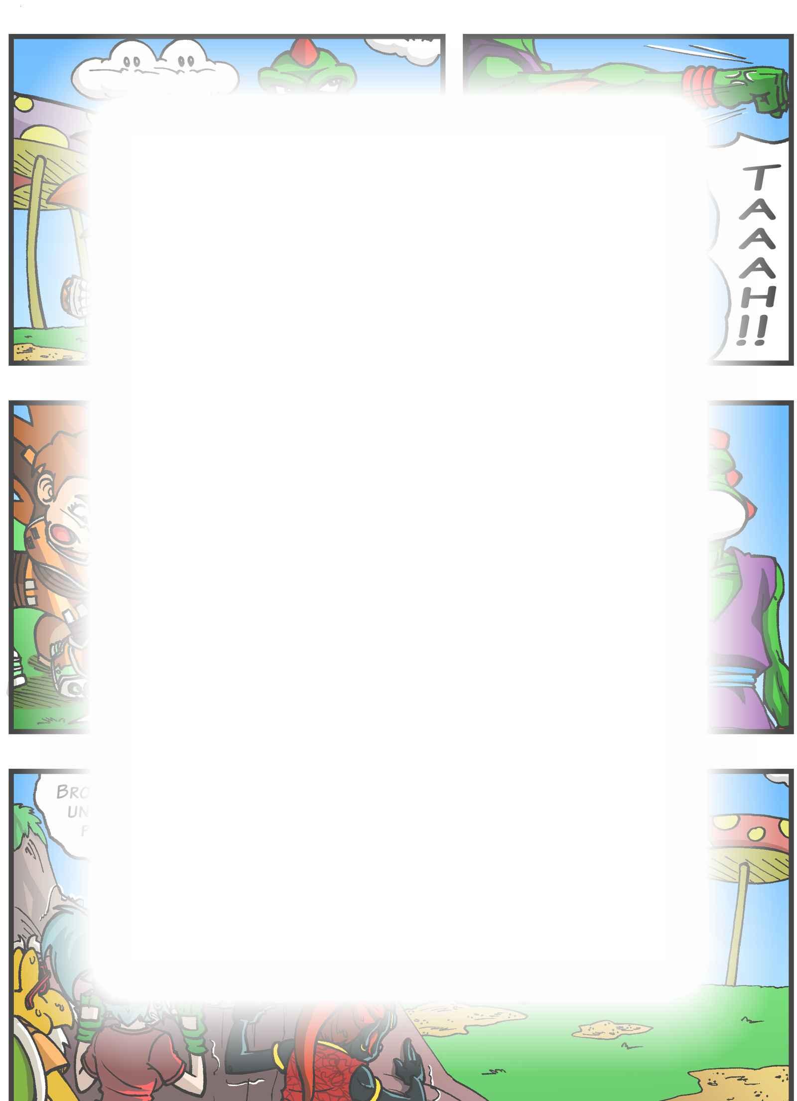 Super Dragon Bros Z : チャプター 4 ページ 2