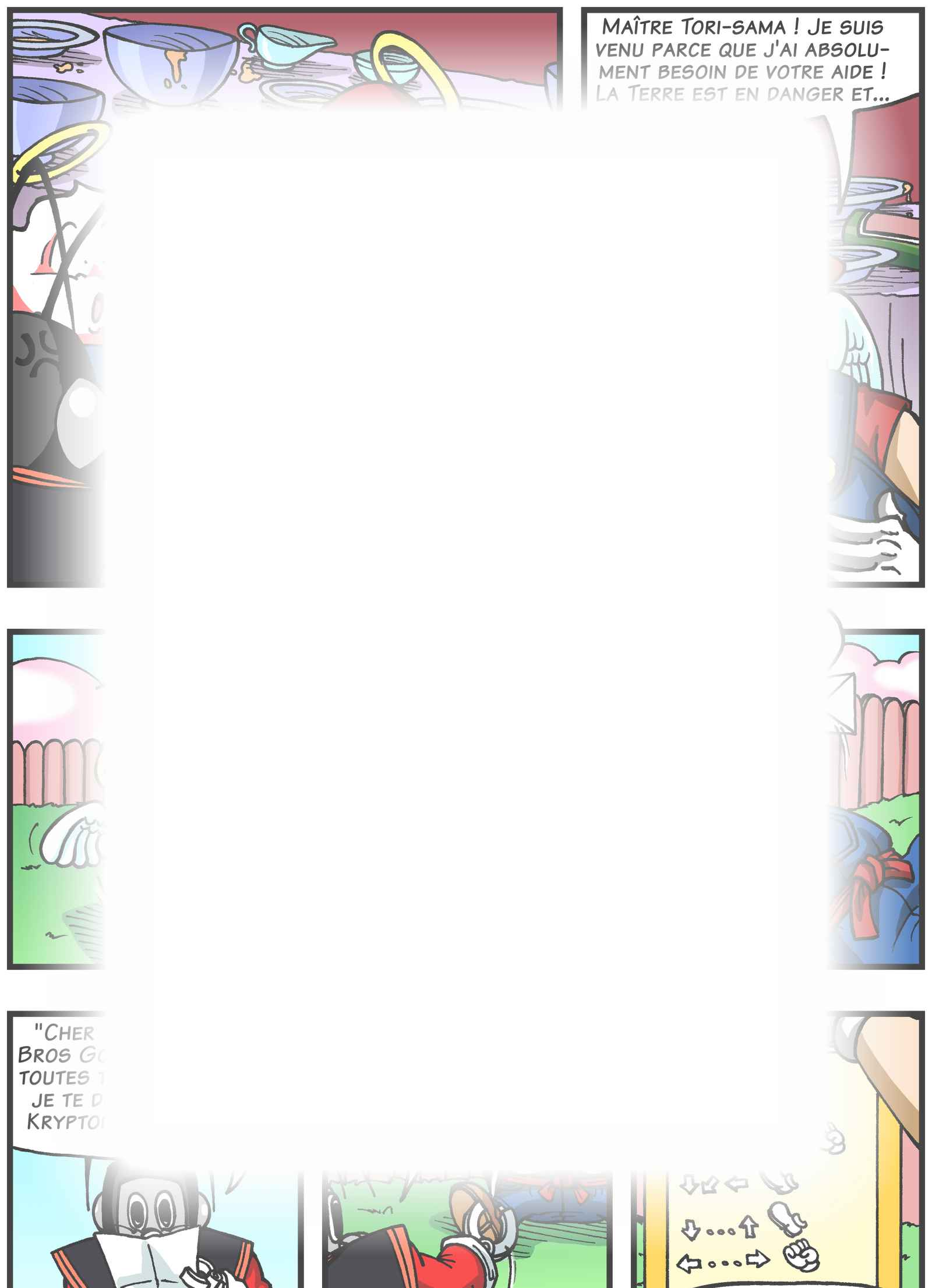 Super Dragon Bros Z : Chapitre 4 page 12