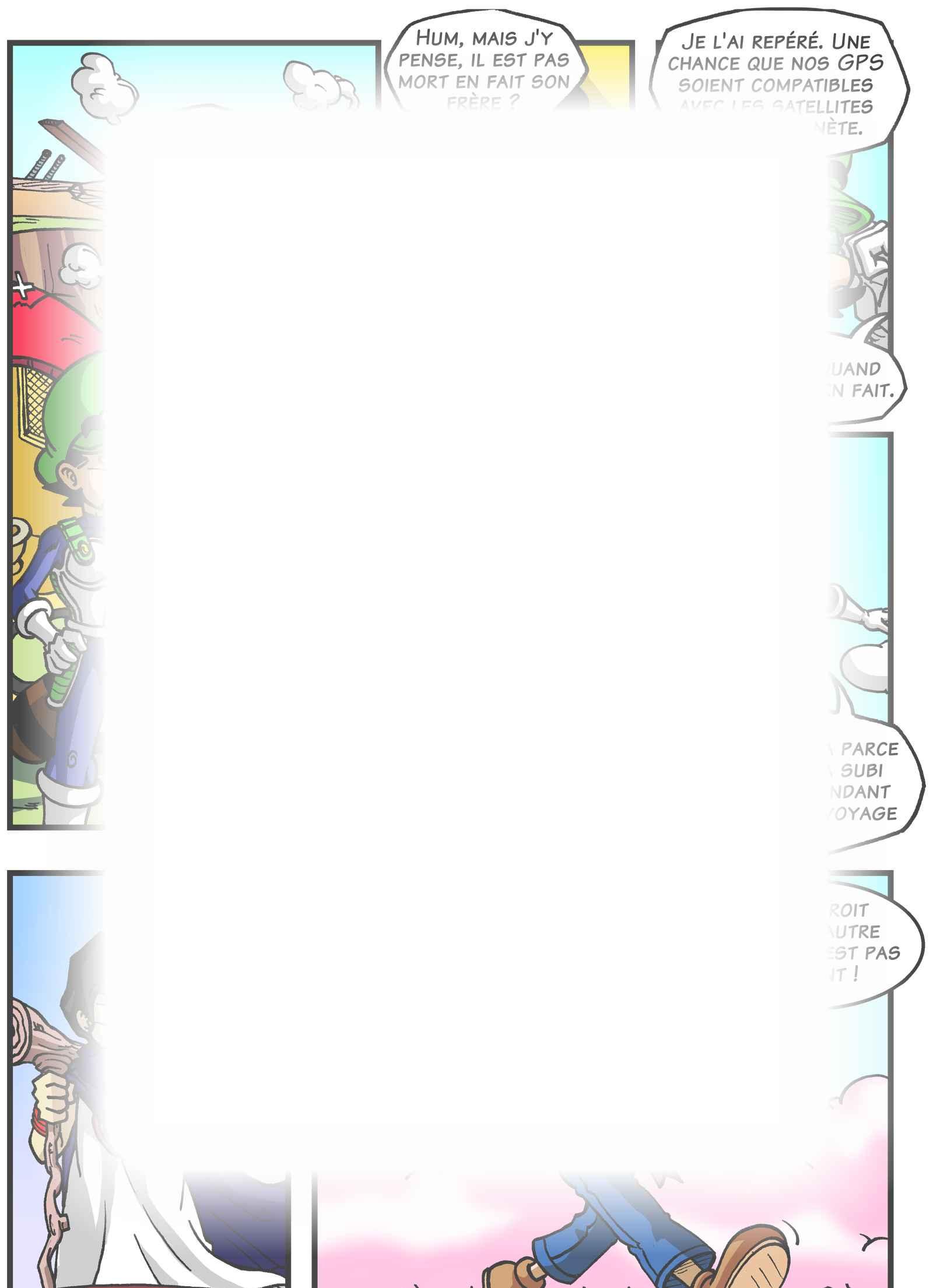 Super Dragon Bros Z : Chapitre 5 page 5