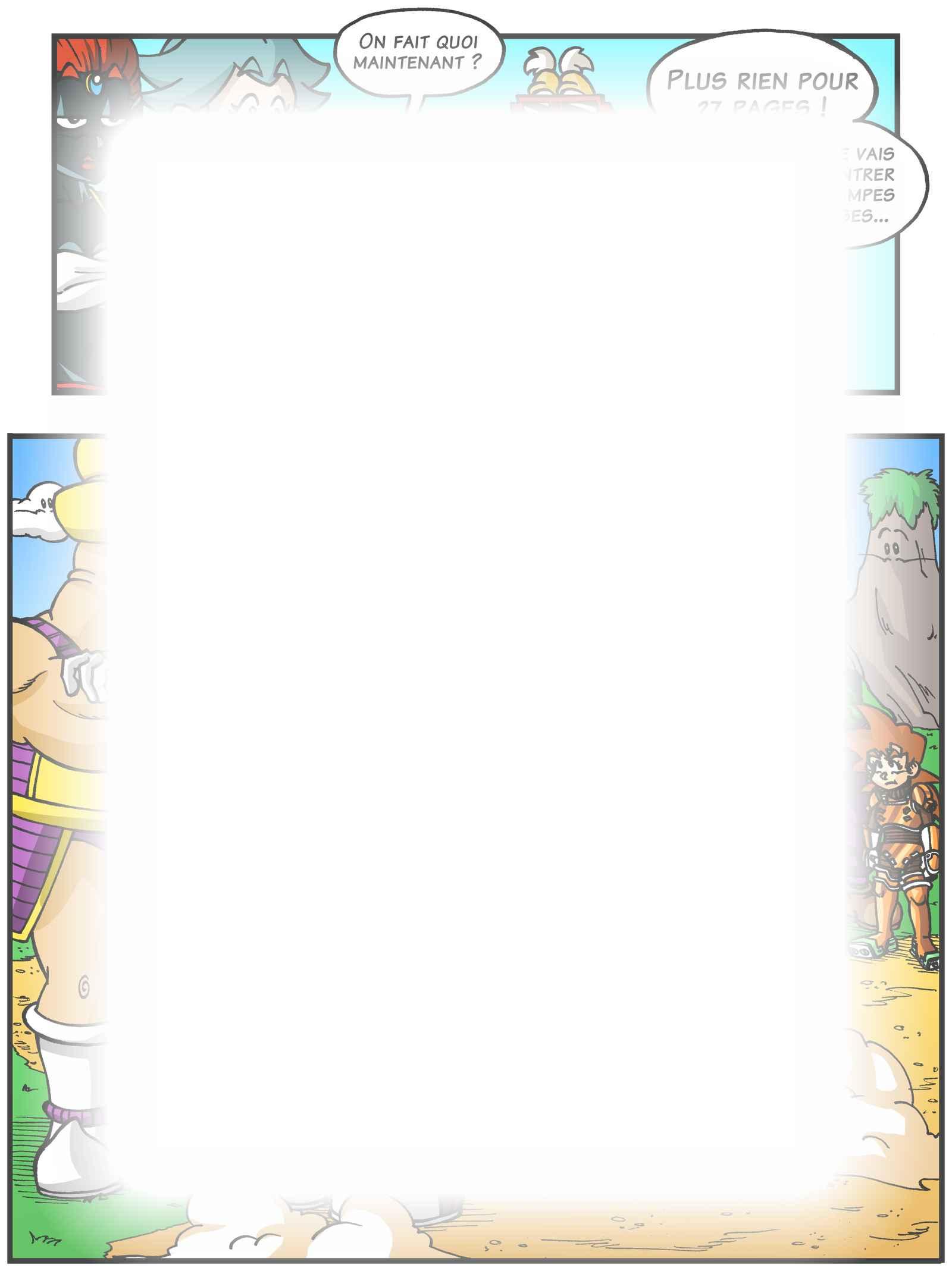 Super Dragon Bros Z : Chapitre 5 page 9