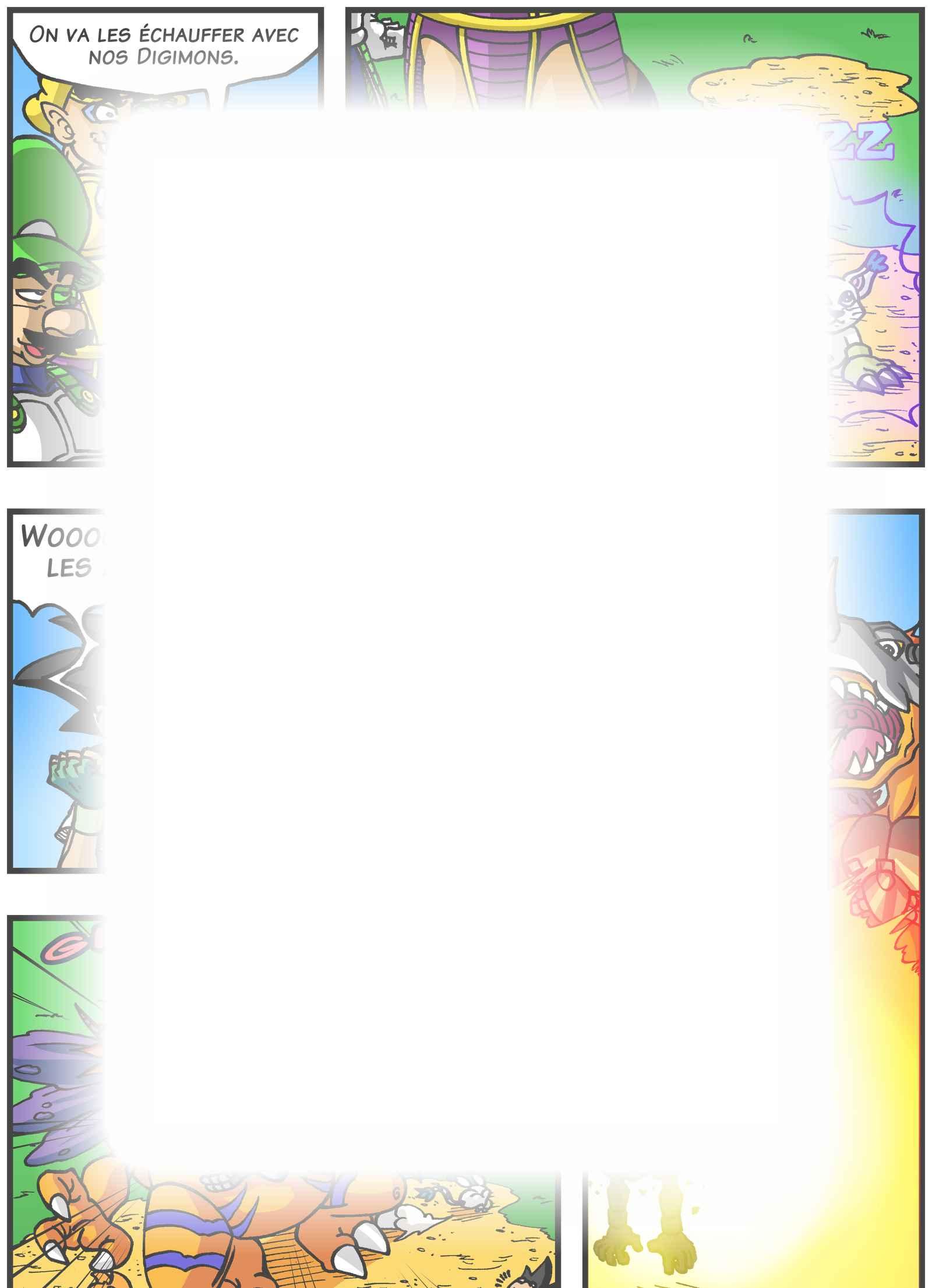 Super Dragon Bros Z : Chapitre 5 page 11