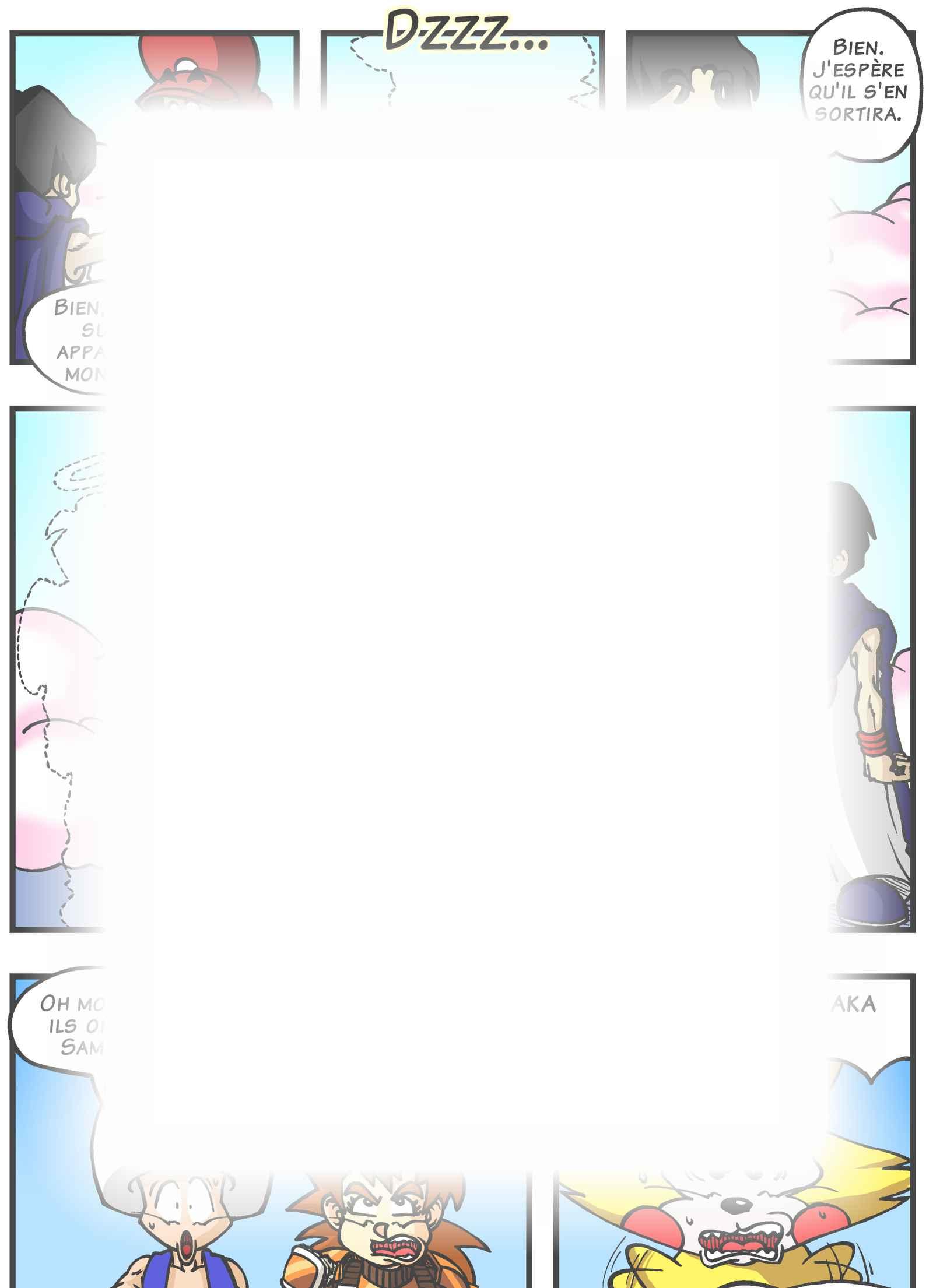 Super Dragon Bros Z : Chapitre 5 page 12