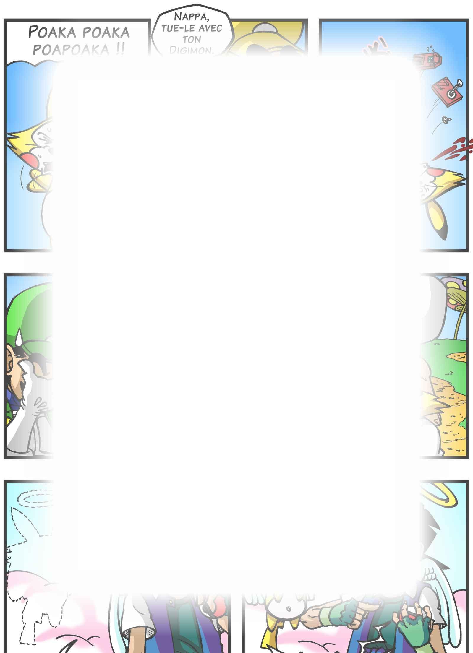 Super Dragon Bros Z : Chapitre 5 page 13