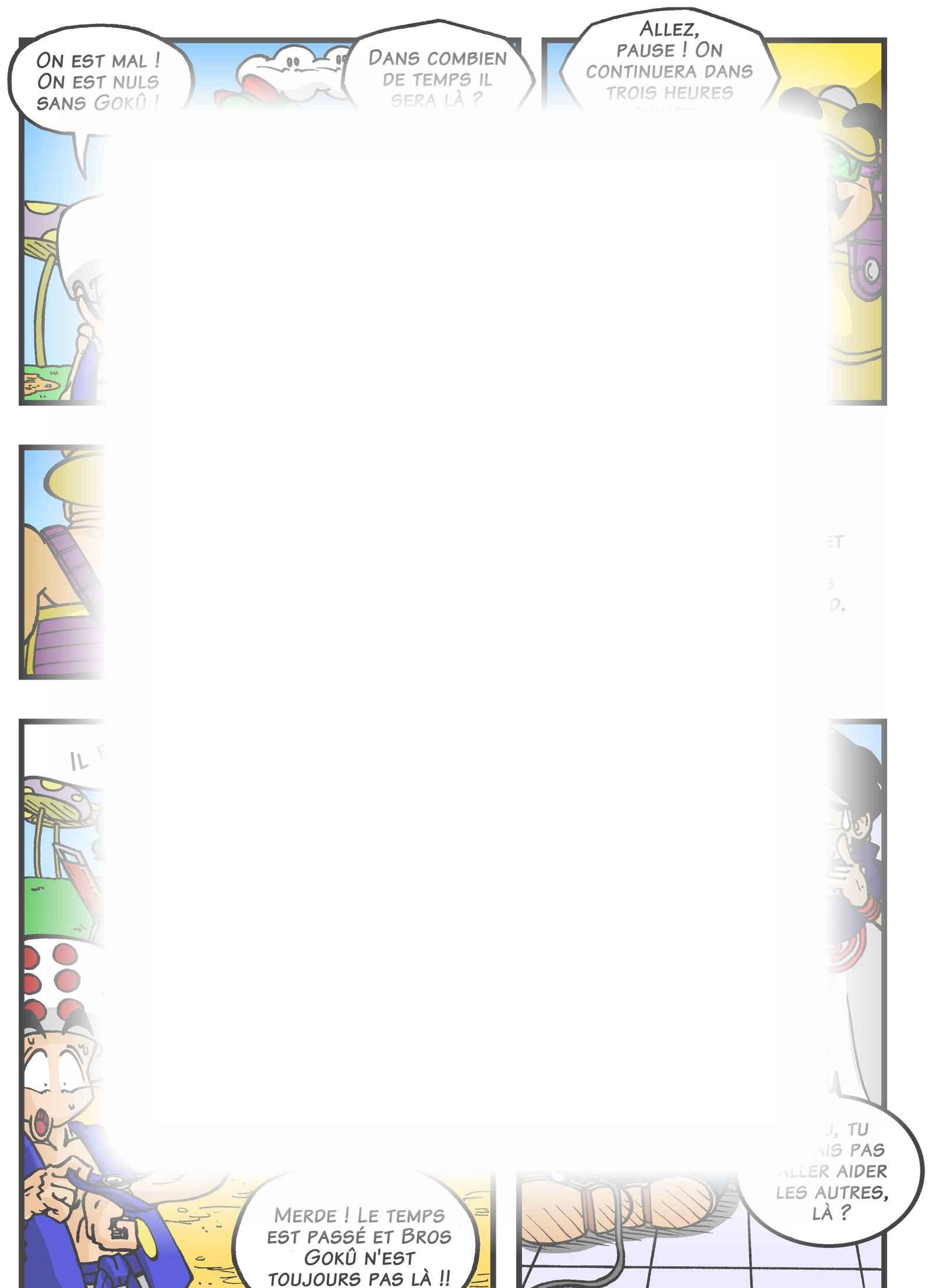 Super Dragon Bros Z : Chapitre 5 page 14