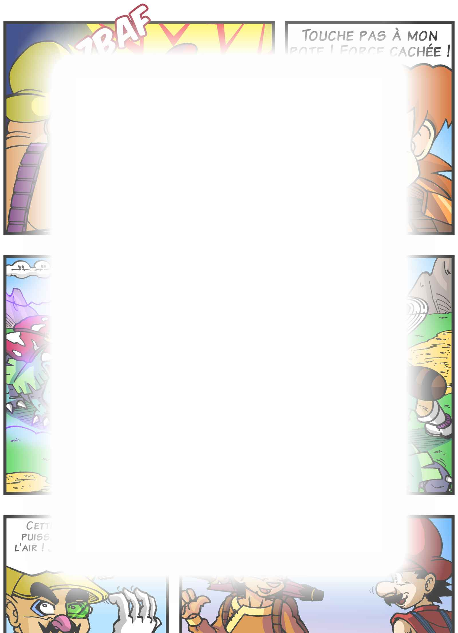Super Dragon Bros Z : Chapitre 5 page 16