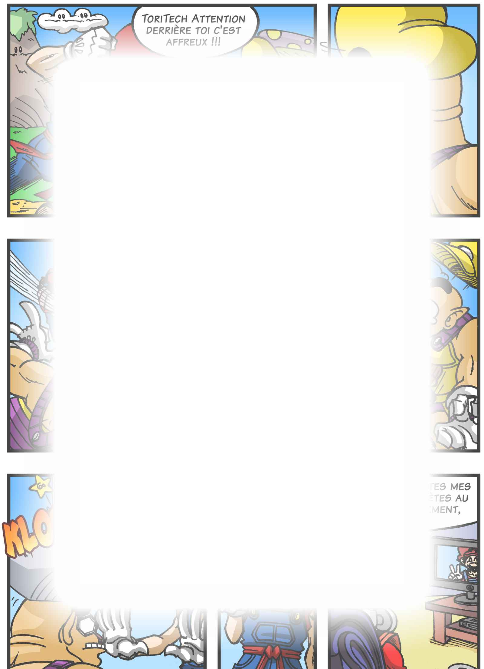 Super Dragon Bros Z : Chapitre 5 page 19