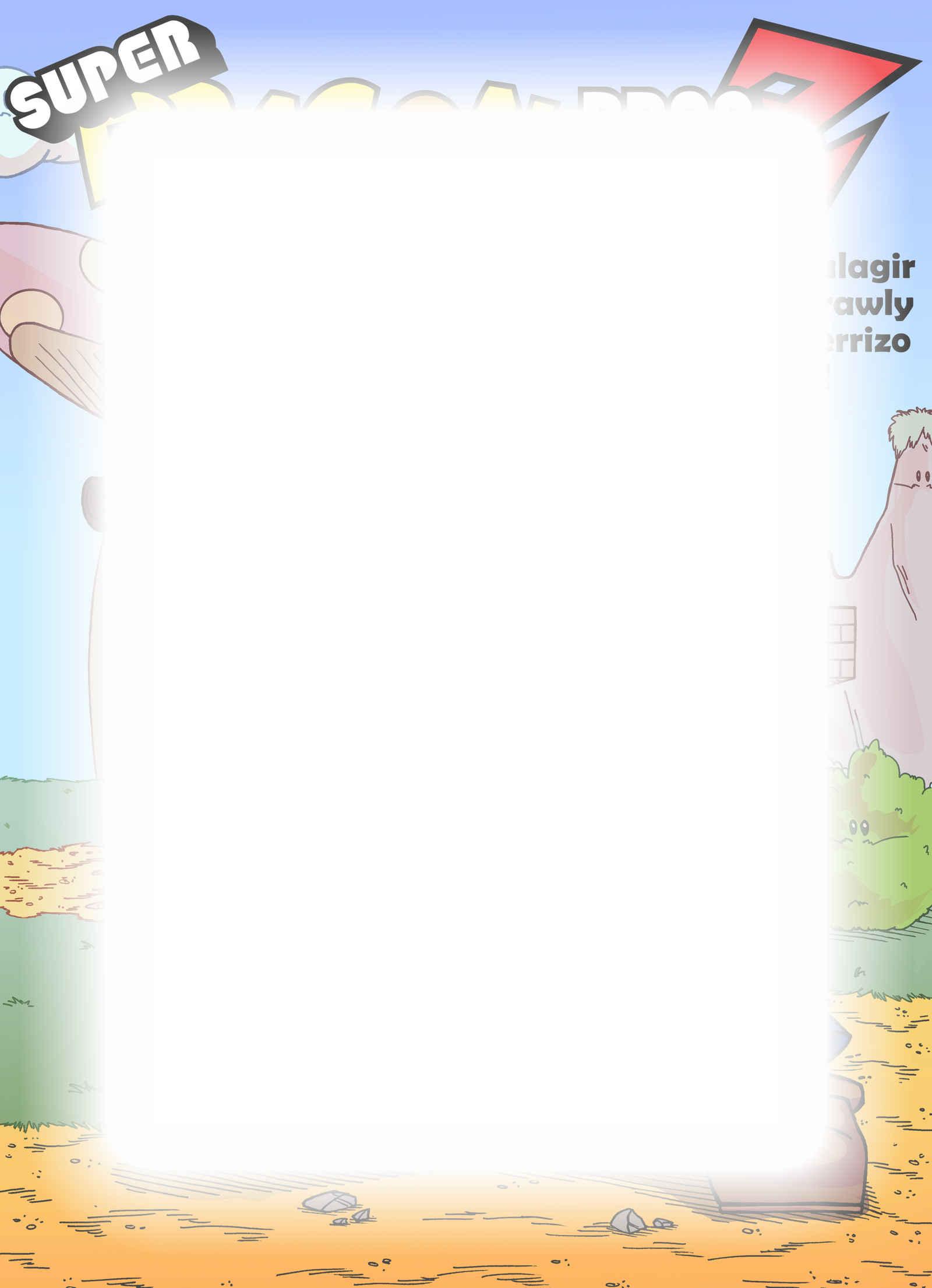 Super Dragon Bros Z : Chapitre 5 page 1