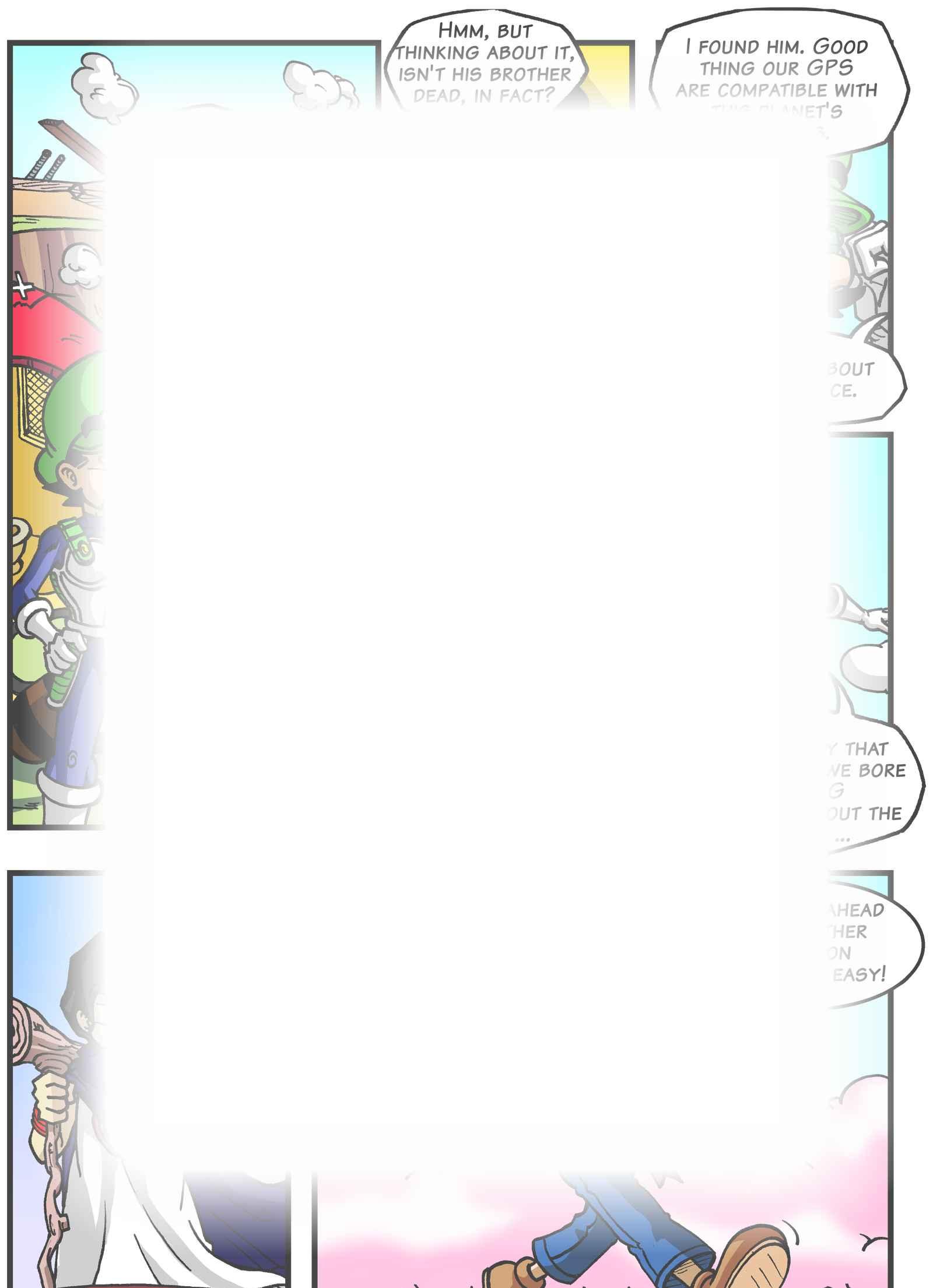 Super Dragon Bros Z : Глава 5 страница 5