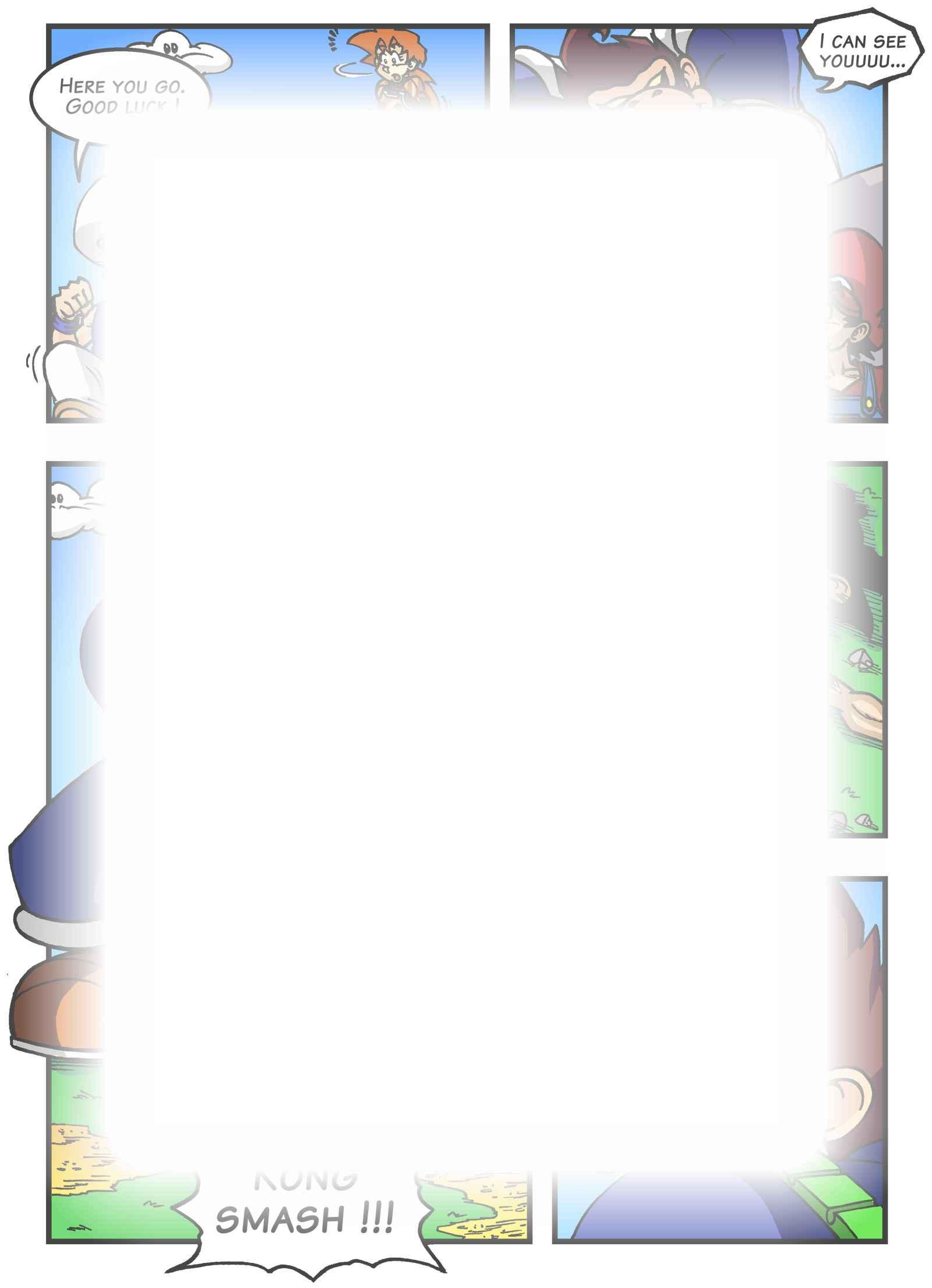 Super Dragon Bros Z : Chapitre 6 page 7