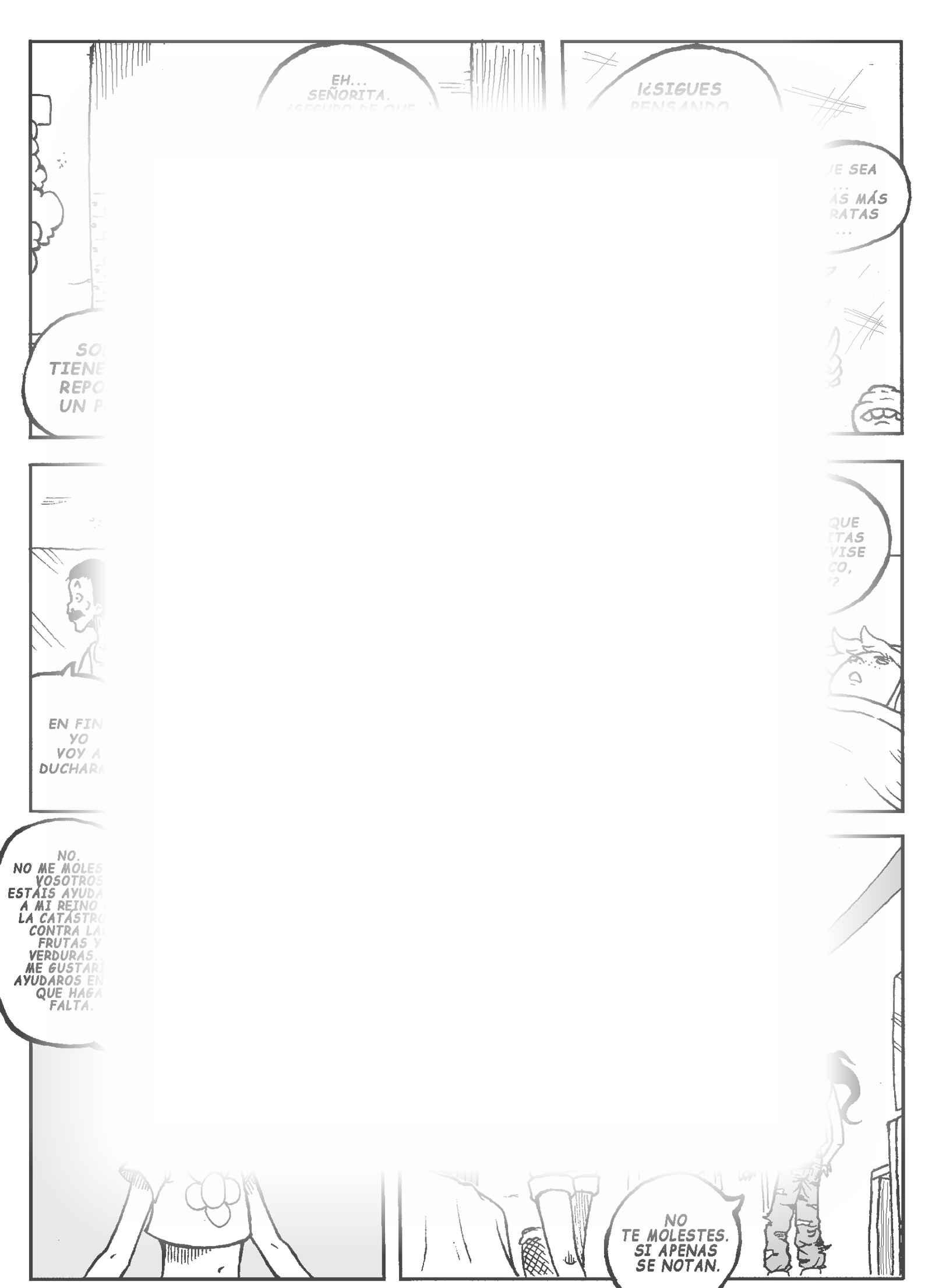 Food Attack : チャプター 8 ページ 5