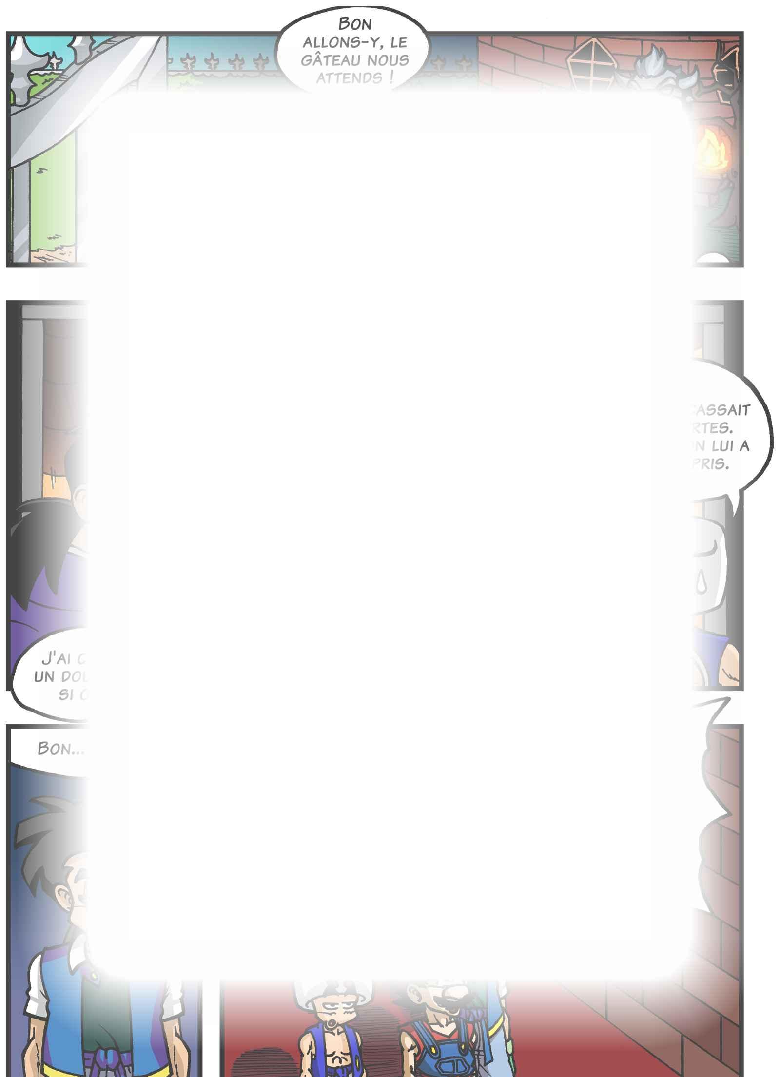 Super Dragon Bros Z : Chapitre 7 page 8