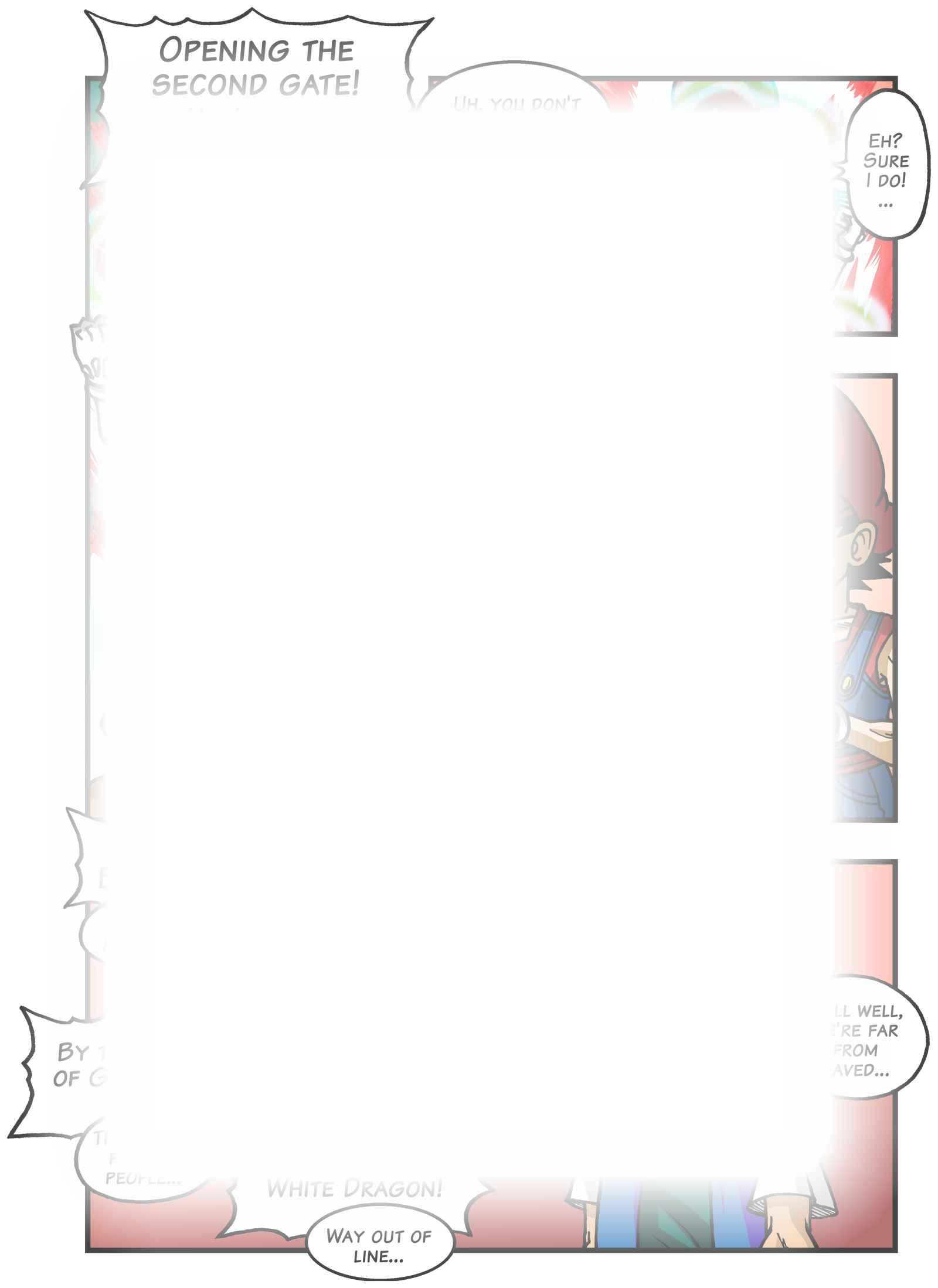 Super Dragon Bros Z : Chapitre 7 page 17