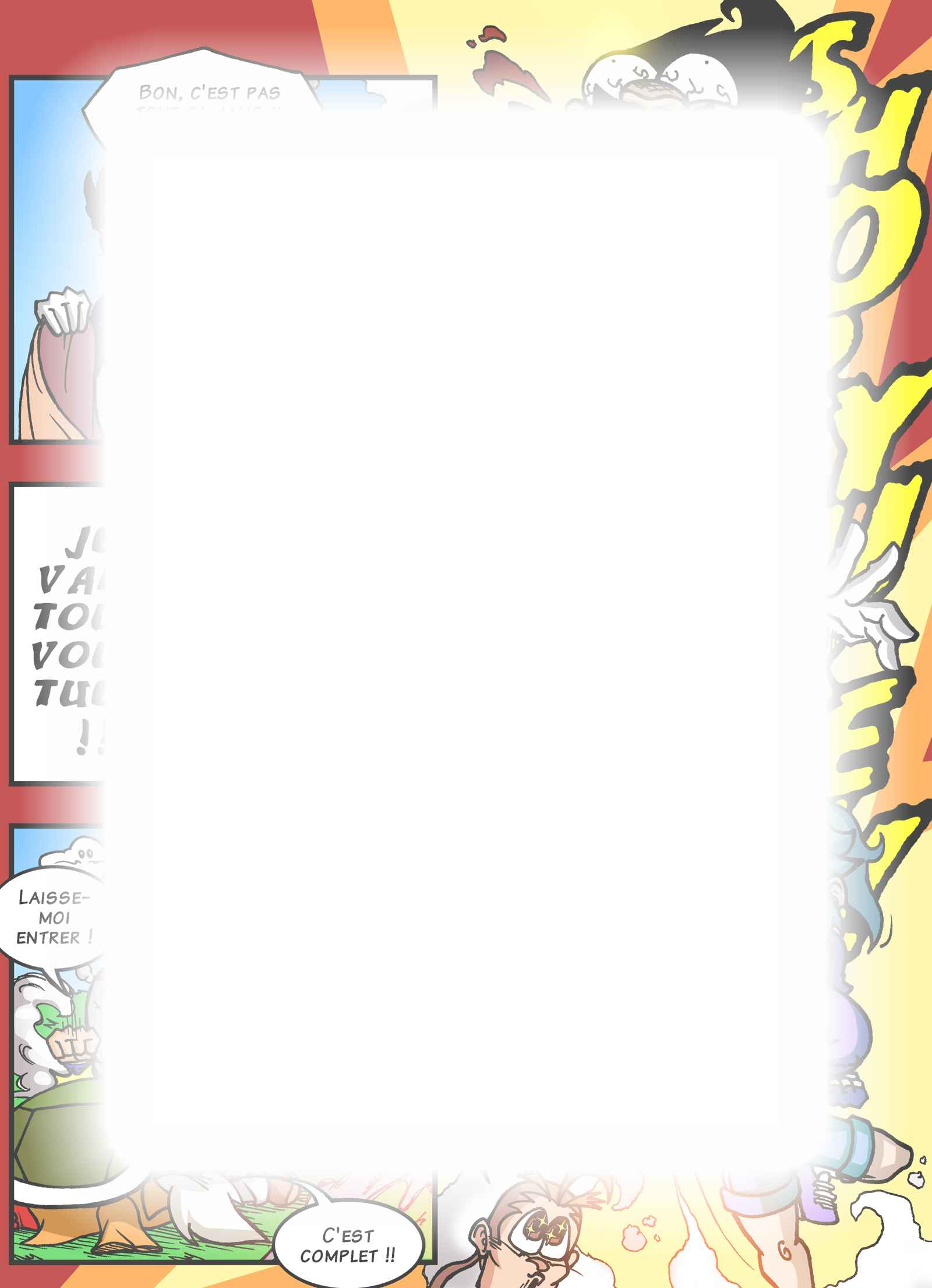 Super Dragon Bros Z : Chapitre 8 page 5