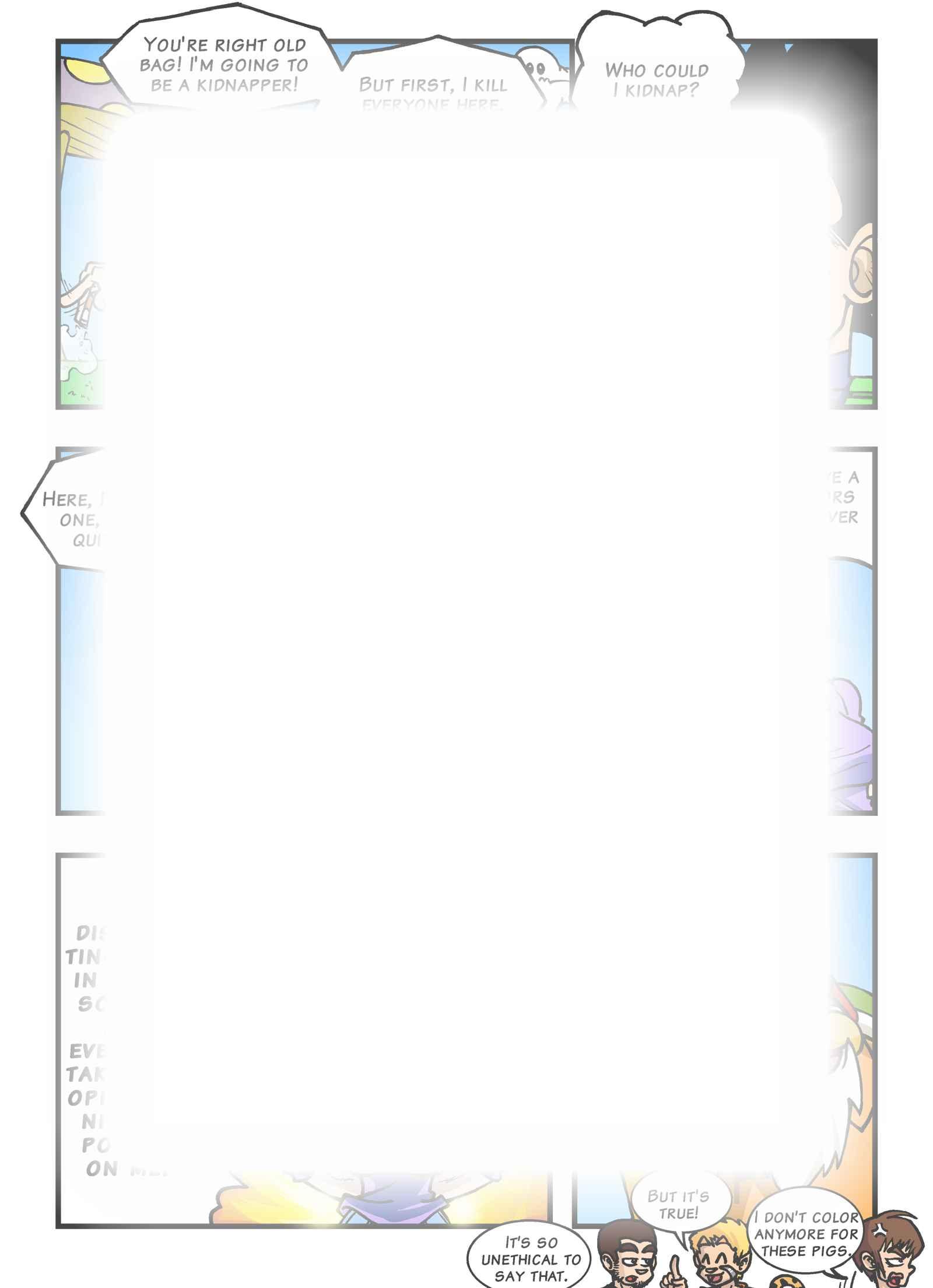 Super Dragon Bros Z : Chapitre 8 page 4