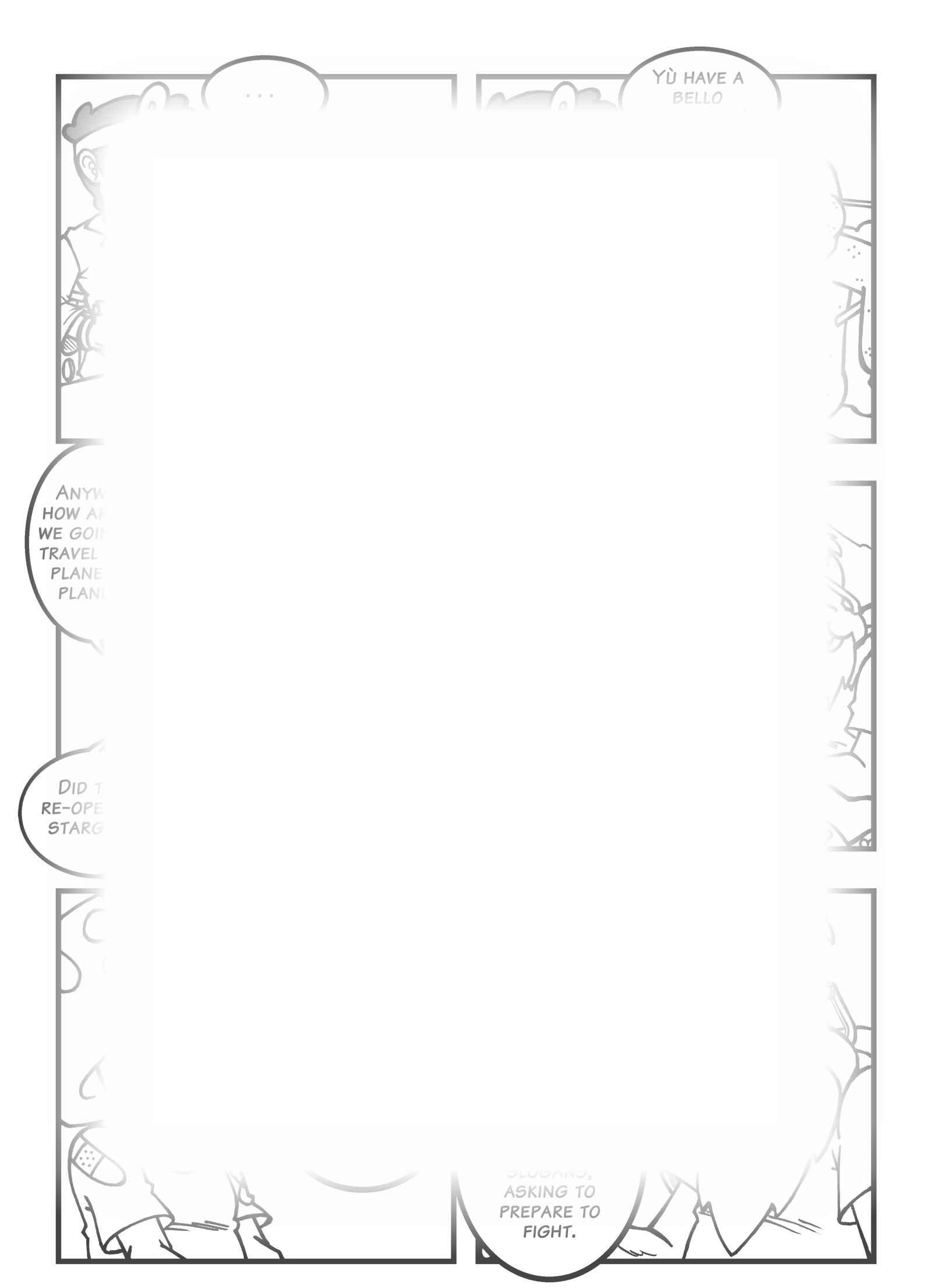 Super Dragon Bros Z : Chapitre 8 page 16