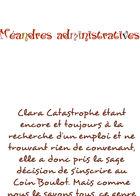 Clara Catastrophe : Chapitre 1 page 21