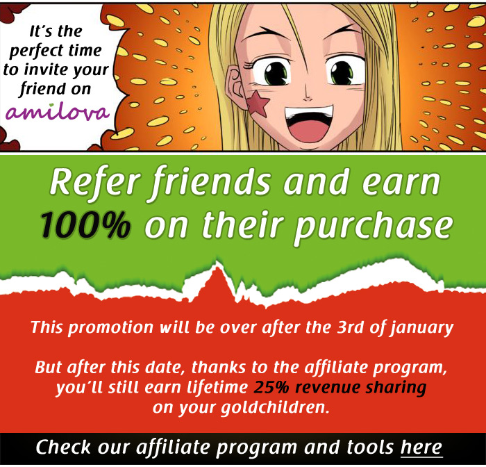 Christmas special promotion : Earn 100% bonus on your godchildren